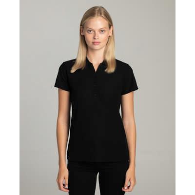 Ladies Ranger Black Polo