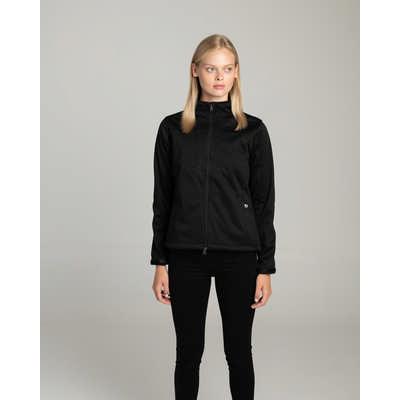 Ladies Softshell Black Jacket