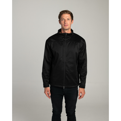 Mens Softshell Black Jacket