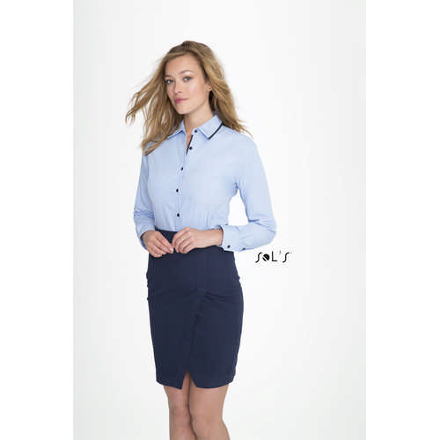 Baxter Womens - Long Sleeve Fitted Shirt