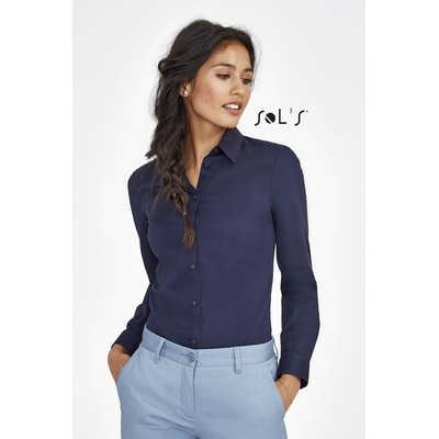 Blake Womens - Long Sleeve Stretch Shirt