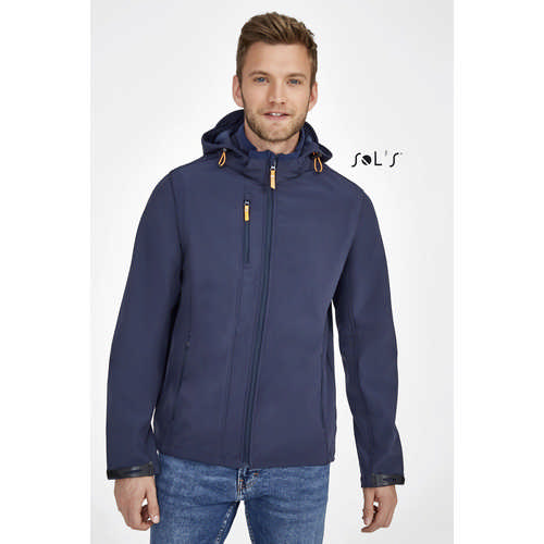 Transformer Softshell Jacket With Removable Hood A