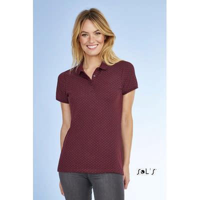 Brandy Womens - Polka-Dot Polo Shirt