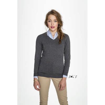Glory Womens V-Neck Sweater