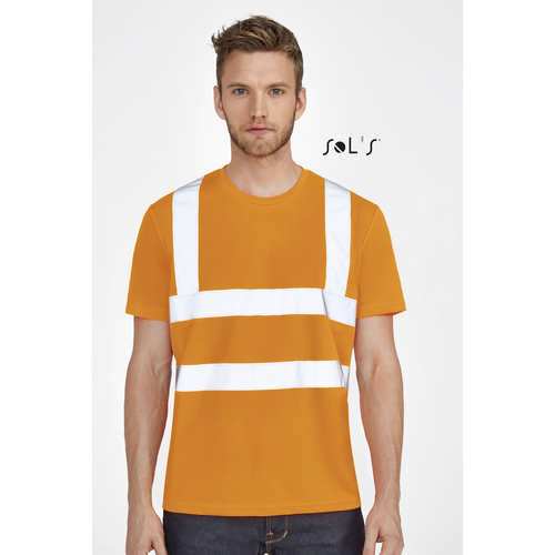 Mercure Pro T-Shirt With High Visibility Strips