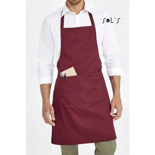 Gramercy Long Apron With Pocket
