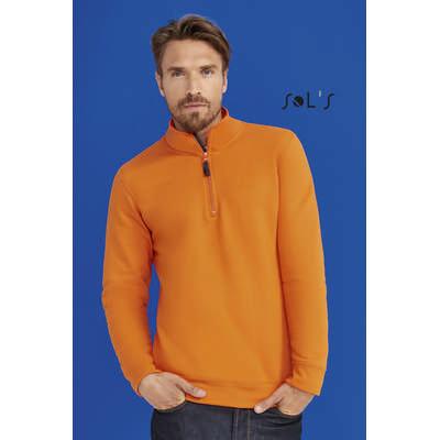 Stan Mens Zip High Collar Sweatshirt