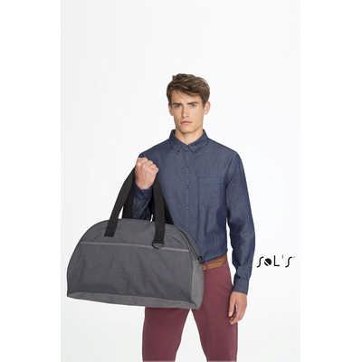 Move Dual Material Travel Bag
