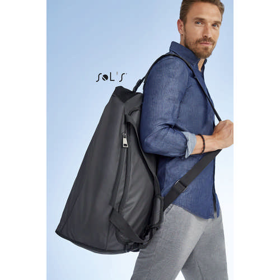 Chrome Coated Canvas Sports Bag
