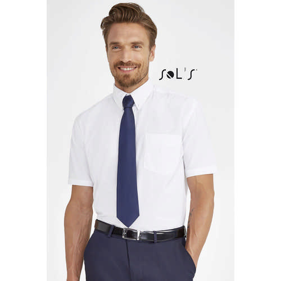 Brisbane Short Sleeve Oxford Mens Shirt