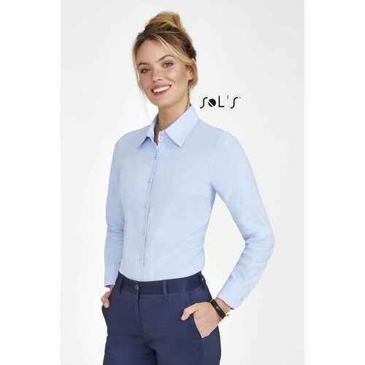 Embassy Long Sleeve Oxford Womens Shirt