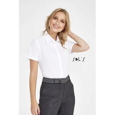 Elite Short Sleeve Oxford Womens Shirt