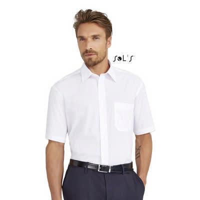 Bristol Short Sleeve Poplin Mens Shirt
