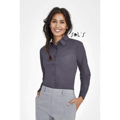 Executive Long Sleeve Poplin Womens Shirt