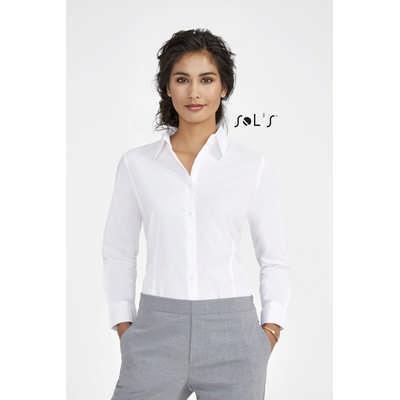 Eden Long Sleeve Stretch Womens Shirt