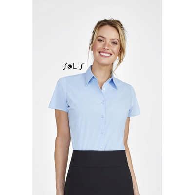 Excess Short Sleeve Stretch Womens Shirt