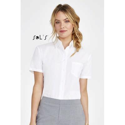 Energy Short Sleeve Poplin Womens Shirt