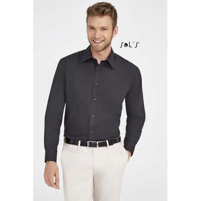 Bradford Long Sleeve Poplin Mens Shirt