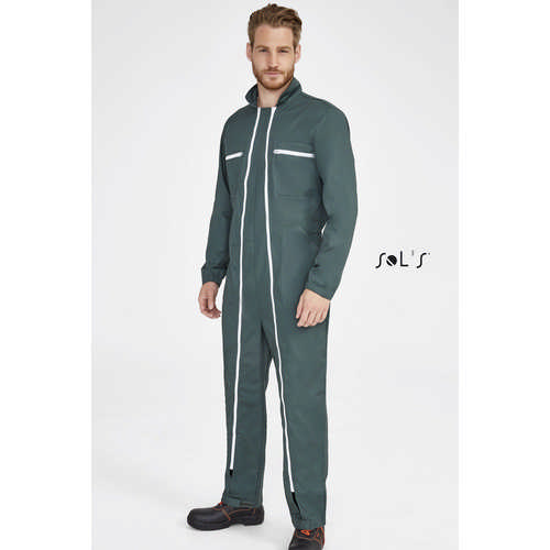 Jupiter Pro Workwear Overall With Double Zip