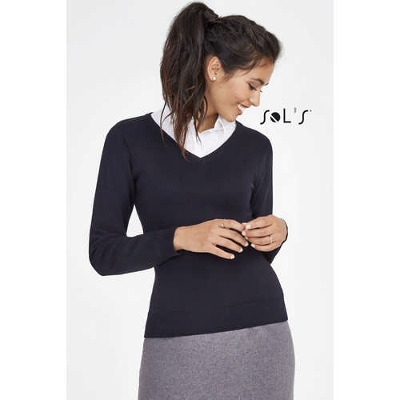 Galaxy Womens V-Neck Sweater