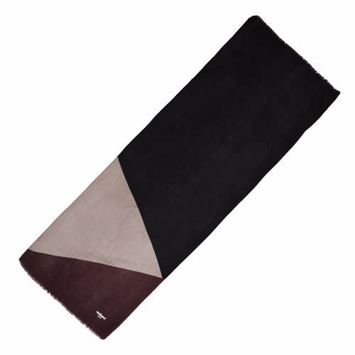 Cacharel Scarf Beaubourg Burgundy & Grey