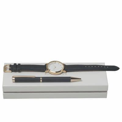Cacharel Set Bagatelle Bleu (Ballpoint Pen & Watch