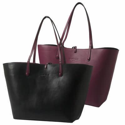 Cacharel Shopping Bag Tourbillon Reversible Bordea