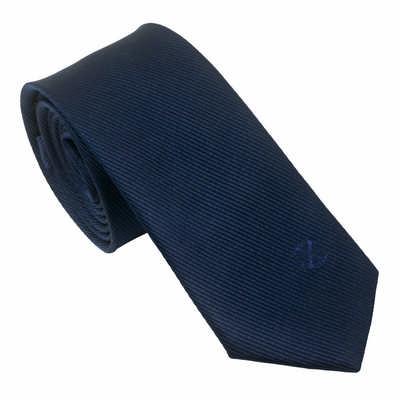Christian Lacroix Silk Tie Element Navy