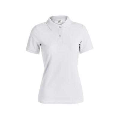 "Women White Polo Shirt ""Keya"" Wps180"