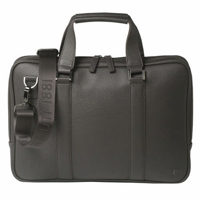 Cerruti 1881 Computer Bag Hamilton Brown