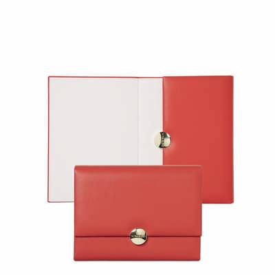 Nina Ricci Note Pad A6 Mdaillon Coquelicot
