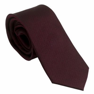 Ungaro Silk Tie Uomo Burgundy