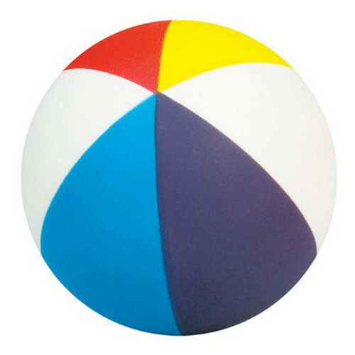 Beachball squeezie - (printed with 1 colour(s)) G1033_ORSO_DEC