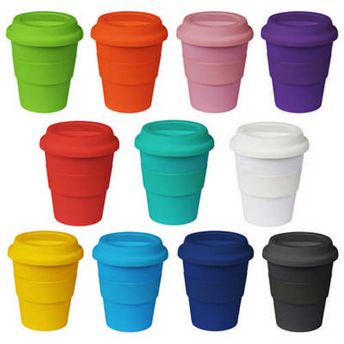 11oz320ml Plastic Karma Kup Silicon Lid