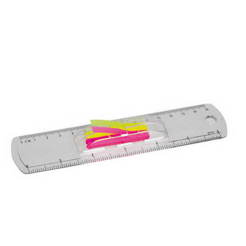 15Cm Ruler With Flags