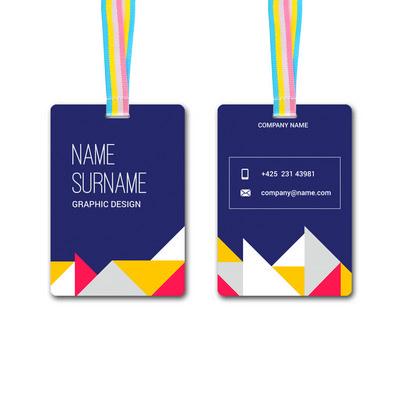Medium PVC Card (80 x 120mm)