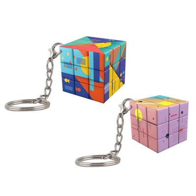 Puzzle Cubes 3x3 Keyrings