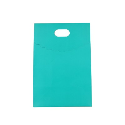 Die cut Handle Bag with Flap(50x220x100mm+80mm flap)