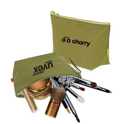 Washable Kraft Paper Cosmetic Bag(290x160x90mm)