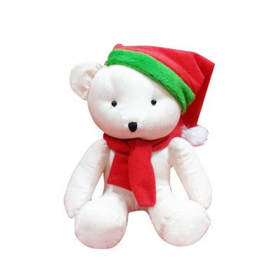 Calico Bear Plush Toy
