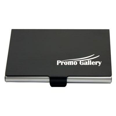 Aluminium Card Holder Black