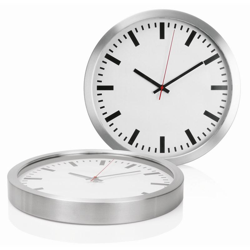 Wall Clock 40cm Aluminium