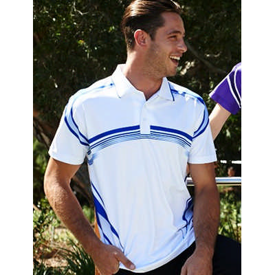 Unisex Adults Sublimated Gradated Polo