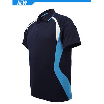 Unisex Adults Sports Panel Polo