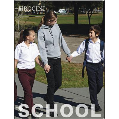 Boys Long Sleeve School Shirt