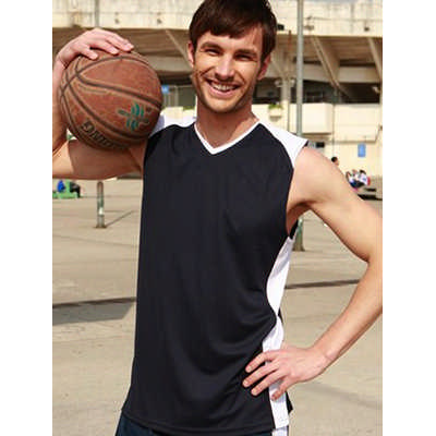 Mens Basketball Singlet