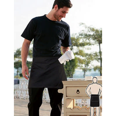 Polyester Drill Quarter Apron - With Pocket