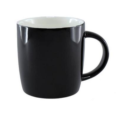Ariston New Bone Barrel Mug - Black White