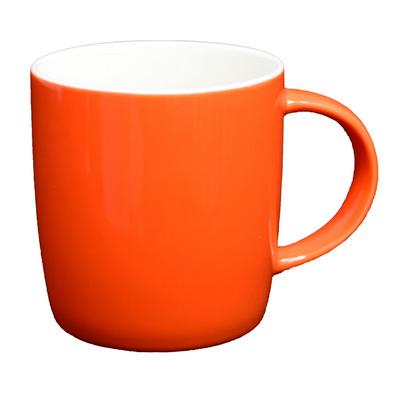 Ariston New Bone Barrel Mug - Orange White