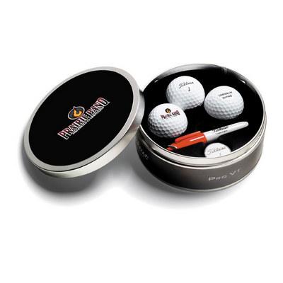 Titleist 3 Ball ProV1 Tin
